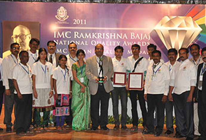 IMC Ramkrishna Bajaj National Quality (RBNQ) Trophy 2011