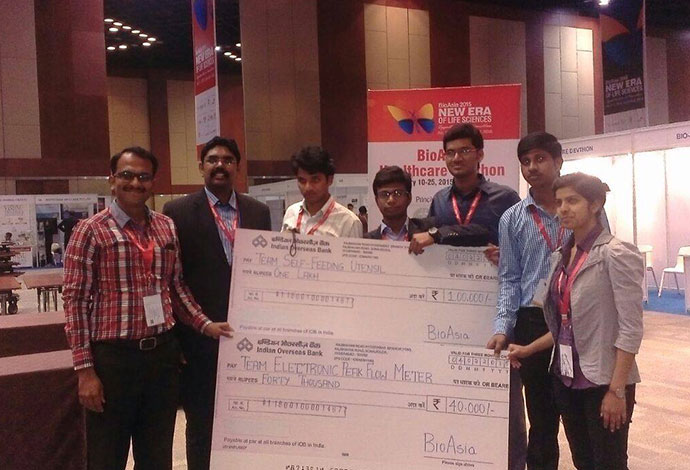 1.4 Lacs in prize from Bio Asia Healthcare Marathon 2015